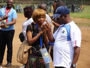 La Presse sportive congolaise est toujours la bienvenue auprès des Léopards même...