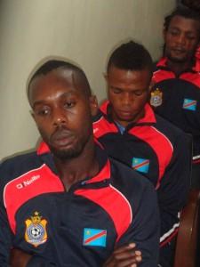 Cédric Ngulubin Meschak Elia de Bompunga Botuli Padou lors de la messe du samedi 24 janvier à Huye (Rwanda)