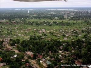 La ville de Mbandaka dans la province de l'équateur en RDC. Radio Okapi/ Ph.Don John Bompengo