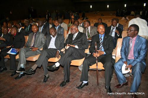 Une séance de travail en commission des députés élus de l'Equateur au Parlais du Peule Kinshasa/RDC, le 20/02/2012. Radio Okapi/Ph. Aimé-NZINGA