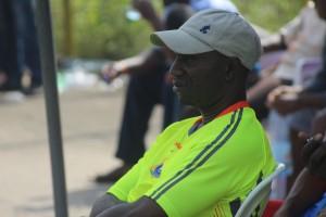 u cours du match RDC vs Apejes Fa Mfou