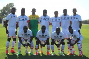 Onze de départ contre le Botswana en amical (2-)