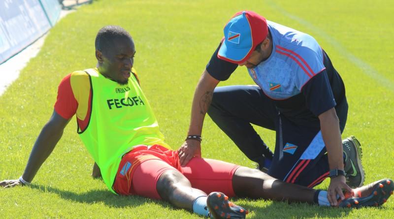 Jean-Francois Mbuy Ngoy a été le 1er à accourir auprès de paul-José Mpoku dans la matinée de ce mercredi 4 octobre 2017 au Stade El Abdi de El Jadida