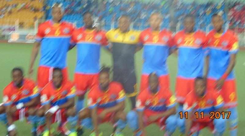 Onze de départ RD Congo vs Guinée de ce samedi 11 novembre 2017 (3-1)