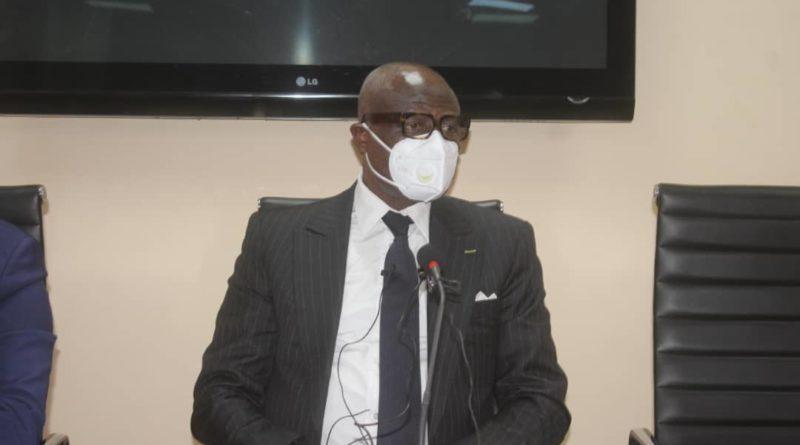 Omari lors du point de prese sursa démission du mercredi 16 juin 2021
