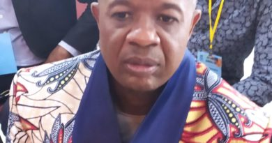 TROIS AMBASSADEURS DU FOOT AU COMITE OLYMPIQUE CONGOLAIS (COC) : Roger-Bobo Bondembe Bokanianga, Mme Mado Ekene et Désiré Bonina Ifonge